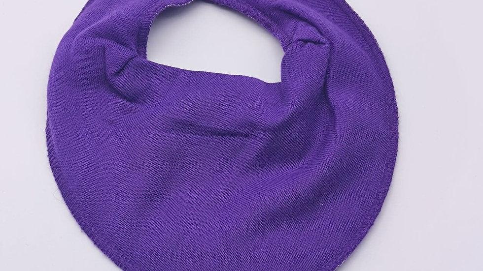 Pippi Dreieckstuch purple