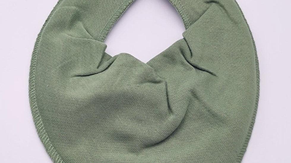 Pippi Dreieckstuch dry green