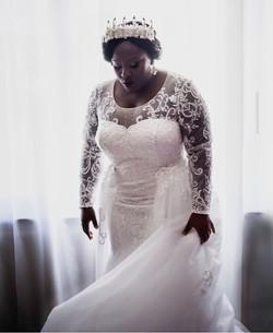 A stunning african queen