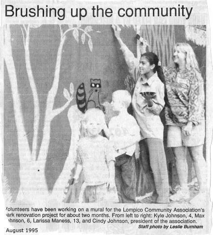 1995_LCC creates park mural