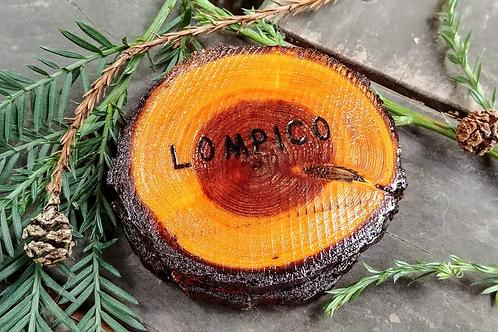 Lompico Redwood Coasters