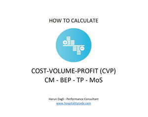 Simple Way to Calculate Cost-Volume-Profit (CVP) Analysis