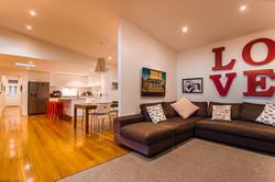 generous family living areas