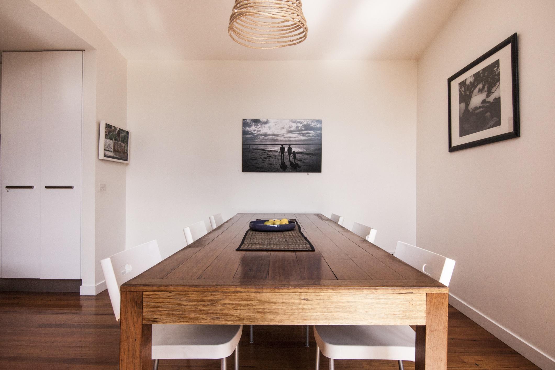 serene dining area