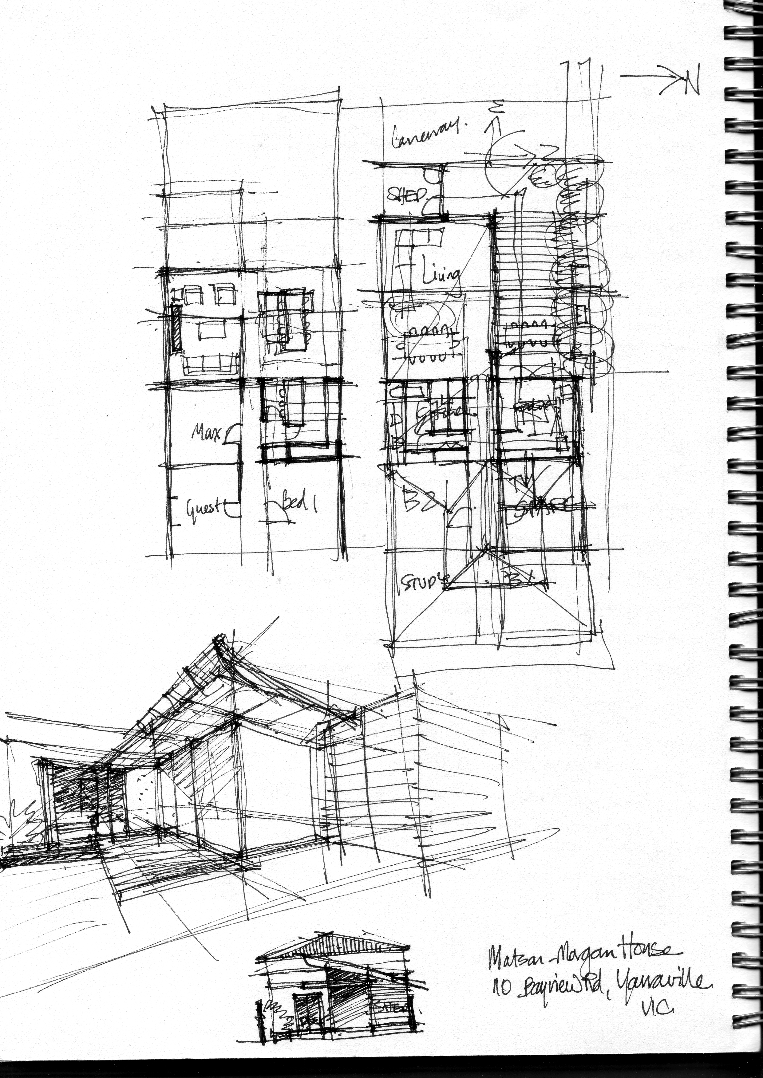 design development sketches