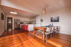 new kitchen and dining areas