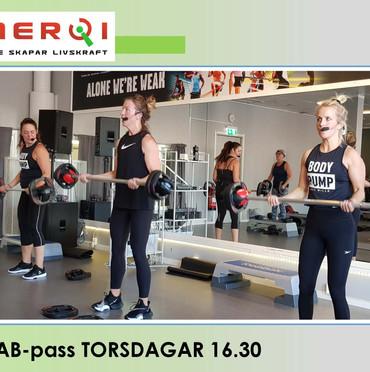 TVAB-pass TORSDAGAR 16.30