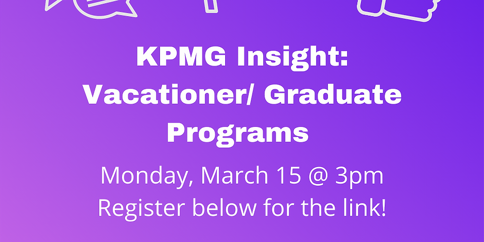 KPMG Insight: Vacationer/ Graduate Programs