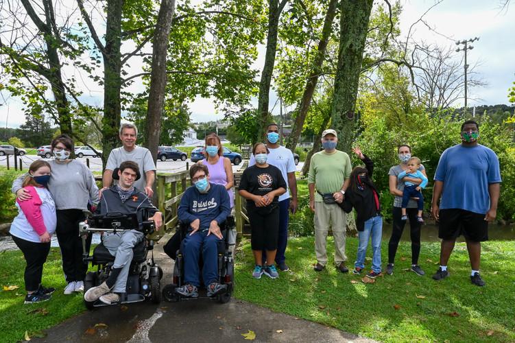River's Way group walk at Sugar Hollow P