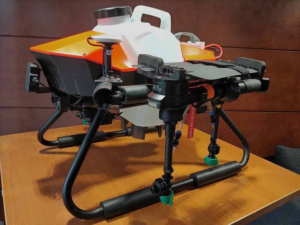 Découvrez le Drone d'épandage AEP 6L