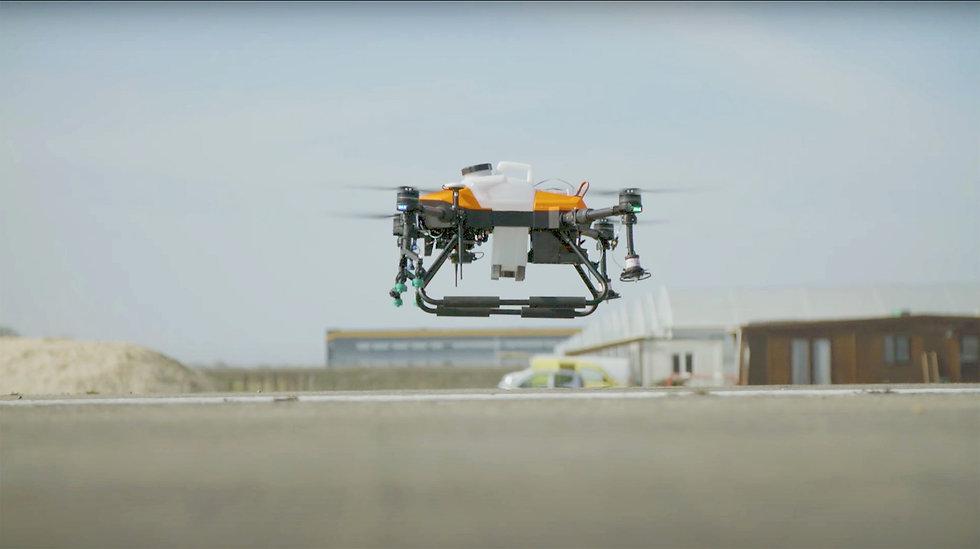 Service d'épandage et pulvérisation par drone