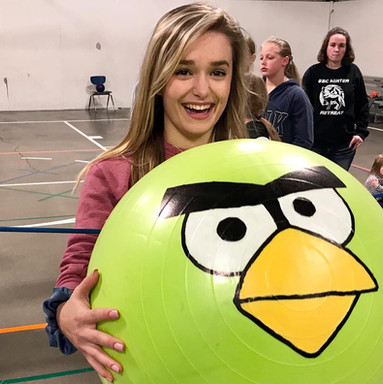 Life Sized Angry Birds
