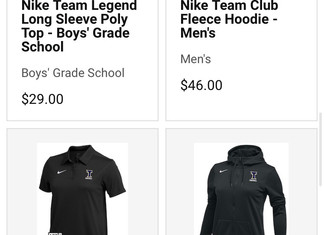Buy apparel in our Eastbay Team Store