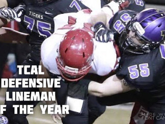 Fleming named TCAL Defensive Lineman of the Year