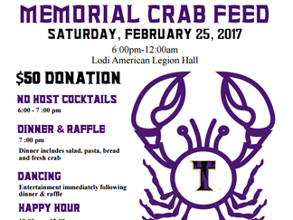 Join us for our 24th annual crab feed