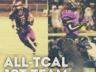 Four Tigers earn high TCAL honors