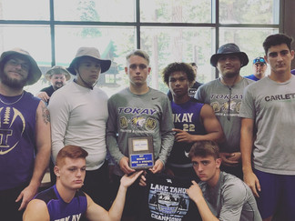 Tigers bring back hardware from Lake Tahoe Football Camp