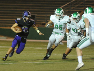 Tracy runs away with victory on homecoming