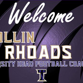 Rhoads hired as new Varsity Head Coach