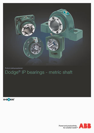 ICA3003AU Dodge IP Bearings - Metric Sha