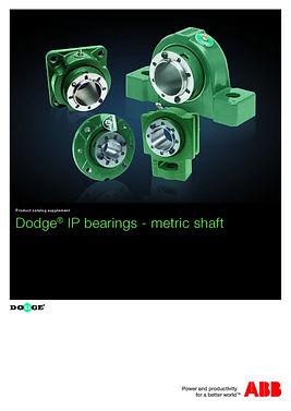ICA3003AU Dodge IP Bearings - Metric Sha