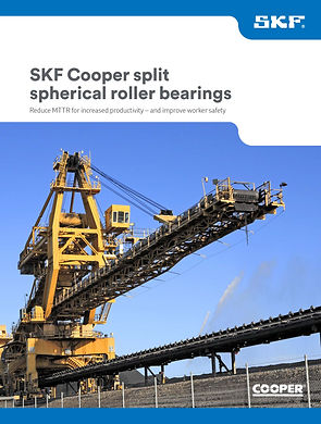 SKF Cooper split spherical roller bearin