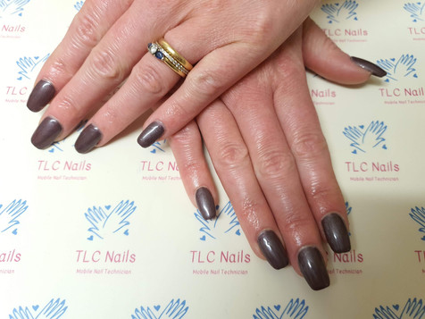 Metallic Brown with Squared Fit-Tips - 2