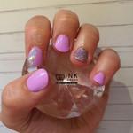 Violet Vibes, Thea foil & Pamela glitter