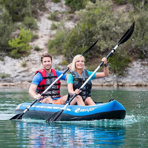 Sevylor Willamette inflatable Kayak Kit
