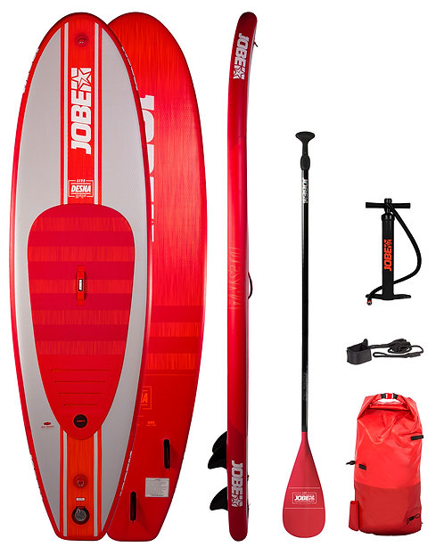 "Jobe DESNA 10'0"" RED Inflatable SUP Package"