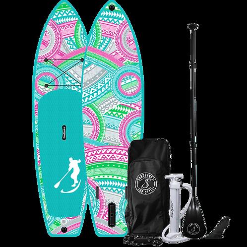 Sandbanks Style 'ULTIMATE' Malibu: 10'6'' x 32'' x 6'' Inflatable SUP Package