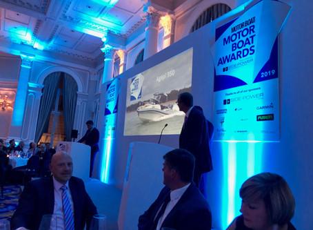 Agapi 950 - Motorboat & Yachting magazine awards - Held at the Corinthia Hotel, London.