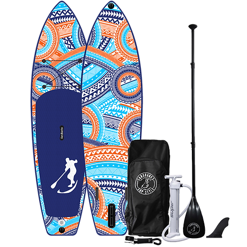 Sandbanks Style 'ULTIMATE' Maui: 10'6'' x 32'' x 6'' Inflatable SUP Package
