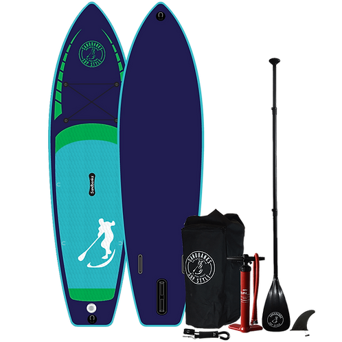 "Sandbanks Stye ELITE 'Midnight Blue' 10'4'' x 32'' x 4.7"" Inflatable SUP Package"