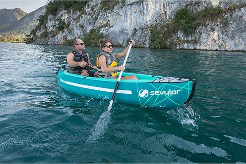 Sevylor Waterton inflatable Canoe Kit