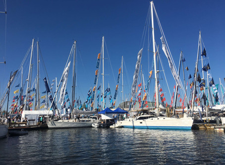 NEW Outbound 56 Debuts at Annapolis boat show.