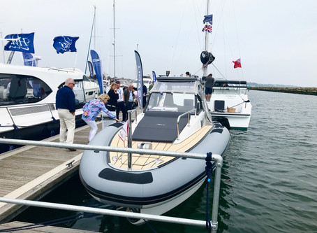 Agapi 950 at Poole Harbour Boat Show