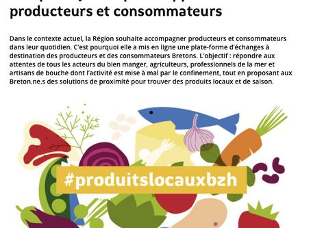 La Région Bretagne lance www.produits-locaux.bzh