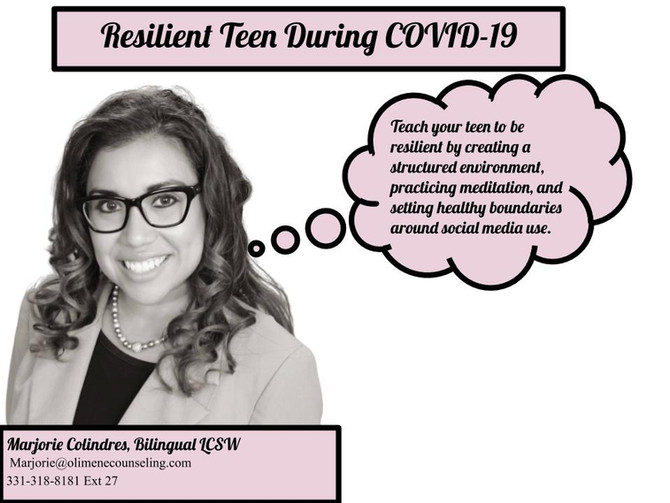 Resilient Teen During COVID-19