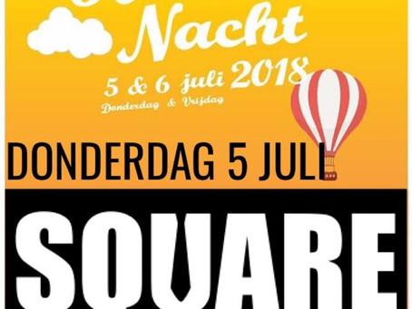 Square rockt de Horecanacht in Hoek van Holland