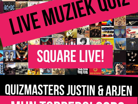 24 november 2017: LIVE MUZIEKQUIZ