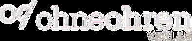 Logo Verlag ohneohren