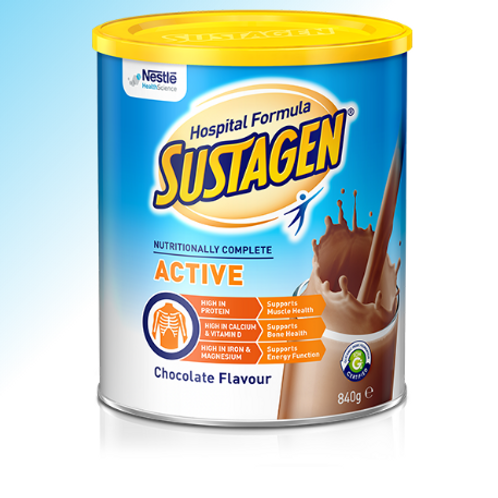 SUSTAGEN® Hospital Formula ACTIVE - CHOCOLATE Flavour