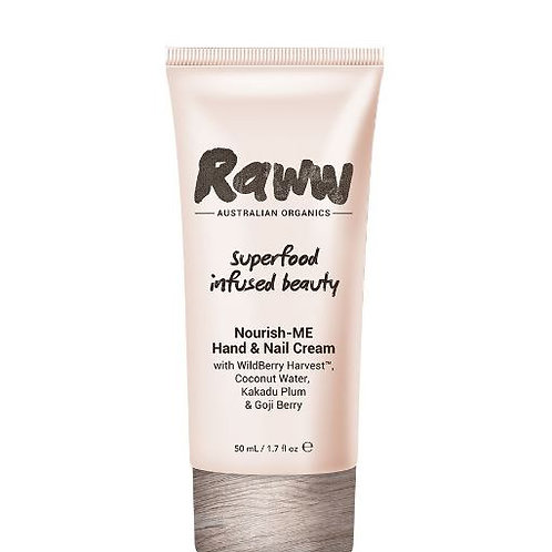 Raww Nourish-ME Hand & Nail Cream