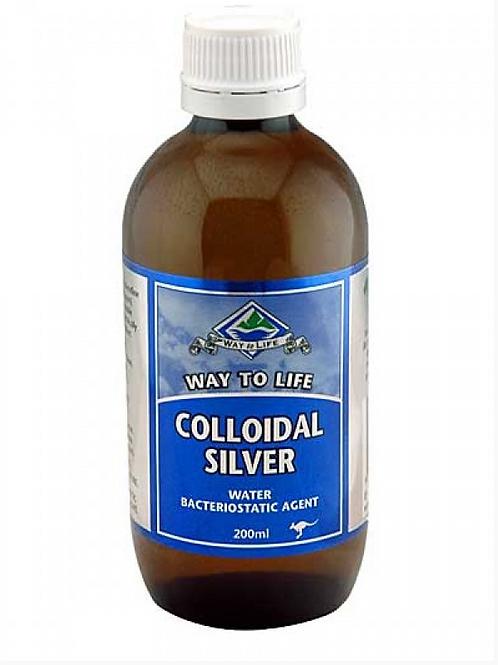 Way To Life Colloidal Silver 200ml