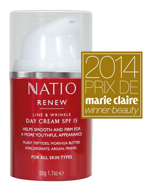 Natio Renew Day Cream SPF 15