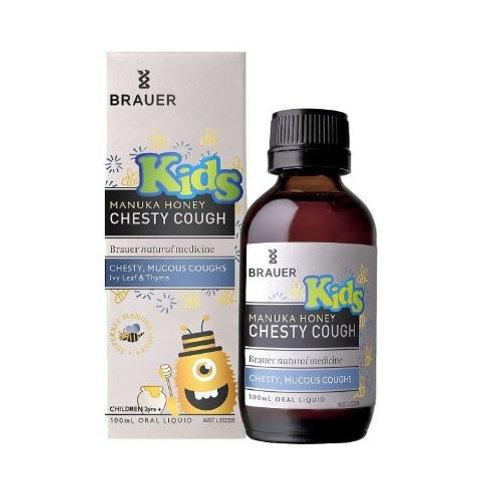 Brauer Kids' Manuka Honey Chesty Cough| 100mL
