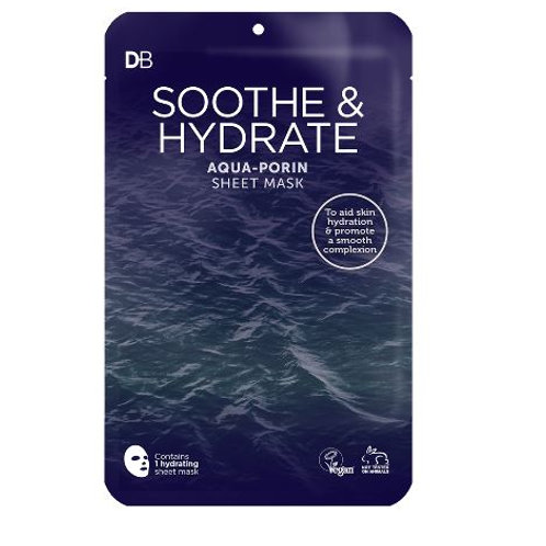Designer Brands Soothe & Hydrate Aqua Porin Deluxe Sheet Mask