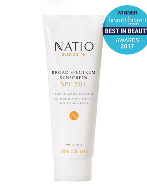 Natio Broad Spectrum Sunscreen SPF 50+