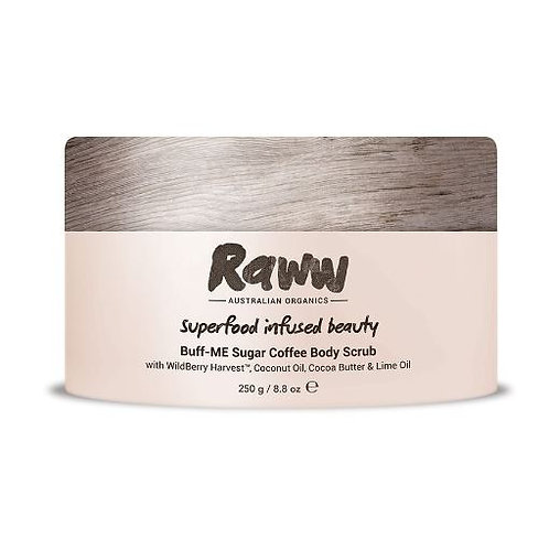 Raww Buff-ME Sugar Coffee Body Scrub